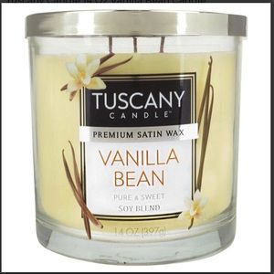 Tuscany Candle Other - 3 NEW Tuscany Candle 14 Oz Vanilla Bean Candles